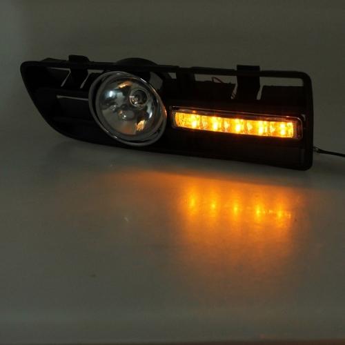 DAYLIGHT LUCI DIURNE A LED FENDINEBBIA VOLKSWAGEN VW GOLF 4 IV  Luci diurne - Daylight ...