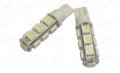 COPPIA LAMPADINE LUCE POSIZIONE BIANCO 13 LED T10 W5W