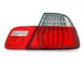 FARI POSTERIORI A LED ROSSI BMW SERIE 3 E46 COUPE' 1999>2003