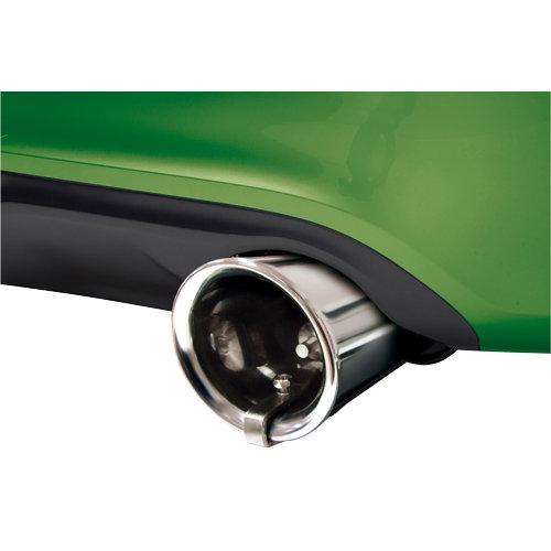 YZLSM Turbo fischio Sano Universale in Lega di Alluminio Turbo Sounder Maker Tubo di Scarico Oversize Roar Simulatore Auto Automobile Sana Forte Fischietto dArgento 1Set
