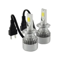 2 LAMPADINE H7 110W LED KIT 9200LM 6000K BIANCO 55W HI/LOW