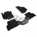 3 TAPPETI GOMMA NERI 4cm SEAT ALTEA XL dal 2006 AL 2015