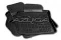 4 TAPPETI GOMMA NERI 4cm AUDI A6 (4G) AVANT dal 2011>