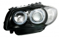 ANGEL EYES BMW SERIE 1 NERI dal 2004 al 2011