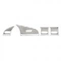 BOCCHETTE ARIA IN ABS CROMATE PER BMW SERIE 3 E36 1994>1998