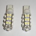 COPPIA LAMPADINE LUCE POSIZIONE BIANCO 25 LED T10 W5W