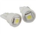 COPPIA LAMPADINE LUCE POSIZIONE BIANCO 1 LED SMD T10 W5W