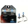 COPPIA LAMPADINE EFFETTO XENON H3 +50% 4200K SUPER BLUE