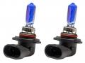 COPPIA LAMPADINE EFFETTO XENON H10 +85% 4800K EXTREME BLUE