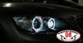 COPPIA LED ANGEL EYES BIANCHI BMW X5 E53 1999-2006