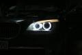 COPPIA LED ANGEL EYES 40W BIANCHI BMW X6 (E71) dal 2008 IN POI