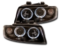 ANGEL EYES AUDI A4 (8E) NERI dal 2001>2004