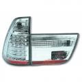 FARI POSTERIORI A LED CROMATI BMW X5 (E53) 1999>2003