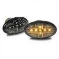 FRECCE LATERALI LED NERE MINI COOPER R50 R52 R53 dal 2001>2007