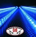 KIT 4 NEON FLESSIBILI SOTTOSCOCCA A LED BLU CON TELECOMANDO WIFI