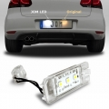 KIT LUCI TARGA LAMPADE A LED PER VOLKSWAGEN GOLF 4 5 6