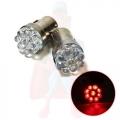 LAMPADINE STOP CON 9 LED ROSSA R10W 21W 12V