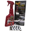 MEGUIARS KIT QUIK DETAILER + CLAY BAR 473ml