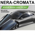 PELLICOLA OSCURANTE VETRI CROMATA-NERA +5% 300x76cm ANTIGRAFFIO