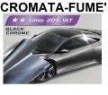 PELLICOLA OSCURANTE VETRI CROMATA-FUME' +20% 300x76cm ANTIGRAFFI