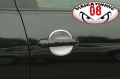 SOTTO MANIGLIE SATINATE PER VW POLO 9N 9N2 9N3 2000-2009