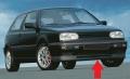 SPOILER PARAURTI ANTERIORE PER VW GOLF 3 dal 1991>1997