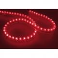 STRISCIA NEON FLESSIBILE ROSSO 48CM CON 48 LED