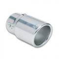 TERMINALE SCARICO CROMATO IN ACCIAIO INOX 30>50mm