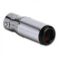 TERMINALE SCARICO CROMATO IN ACCIAIO INOX 35>54mm