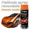 VERNICE PELLICOLA RIMOVIBILE SPRAY ARANCIO LUCIDO 400ml